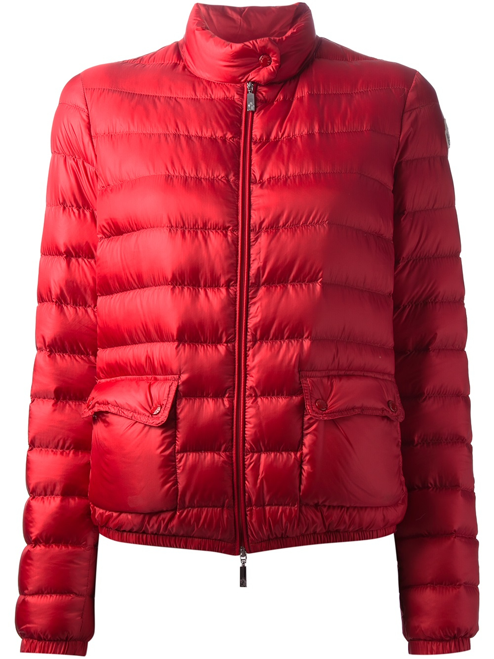 Moncler Lans Padded Jacket In Red Lyst