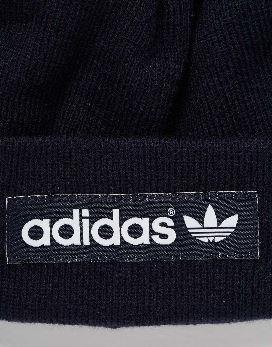 Adidas Originals Blue Logo Beanie Ax6314 for men