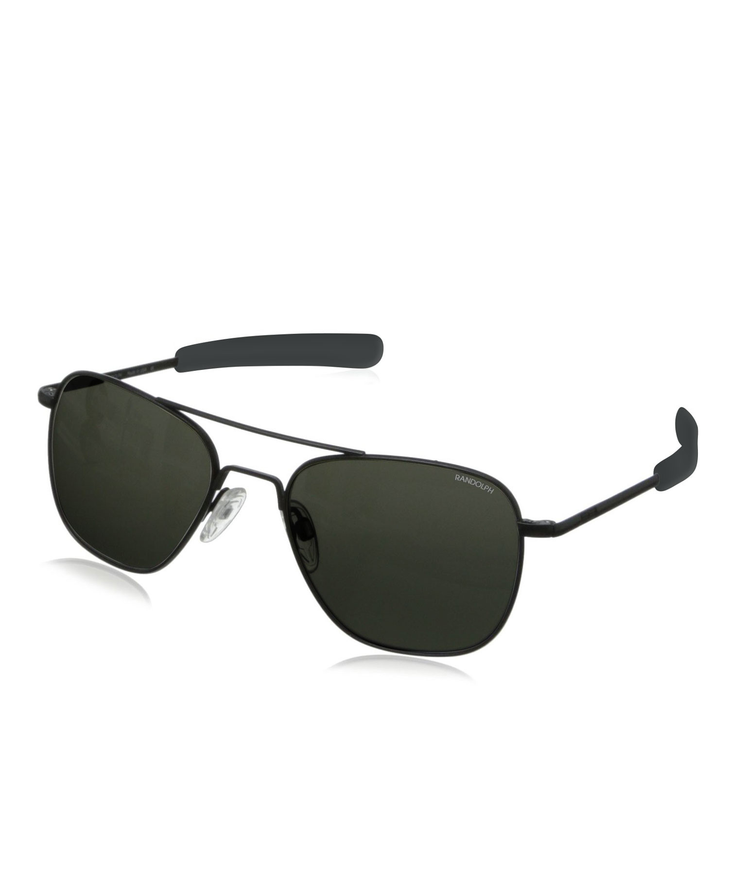 f4d7db21cca Lyst - Randolph Engineering Aviator Sunglasses By In Matte Black in ...