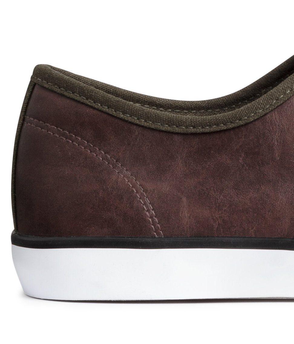 H&M Trainers in Khaki Green/Brown (Natural) for Men