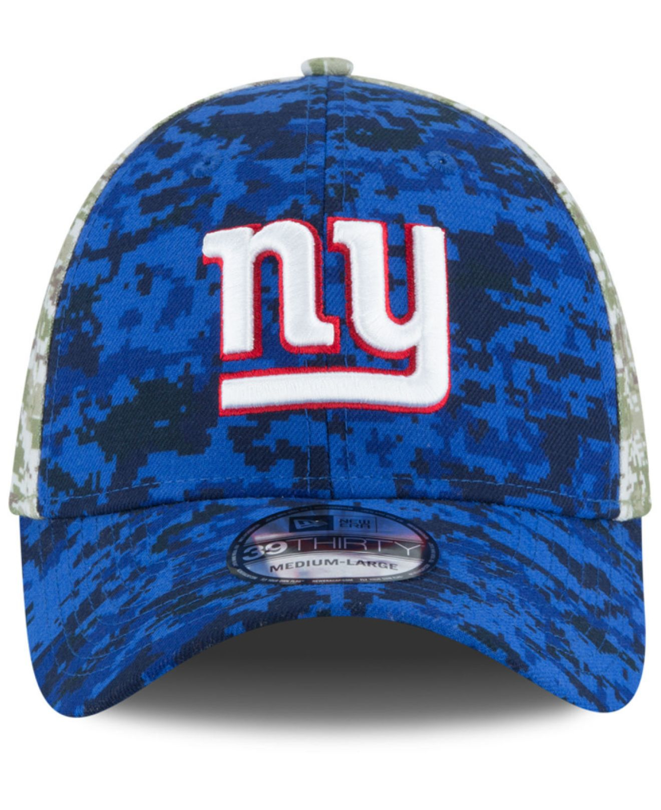 Lyst - KTZ New York Giants Salute To Service 39thirty Cap in Blue ... 92870af51