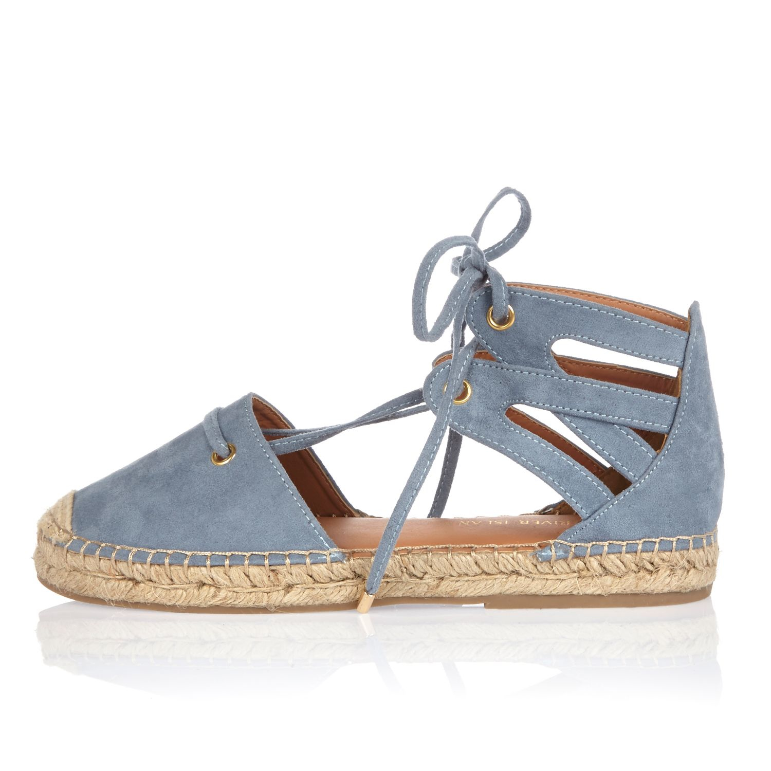 River Island Lace Up Sandals