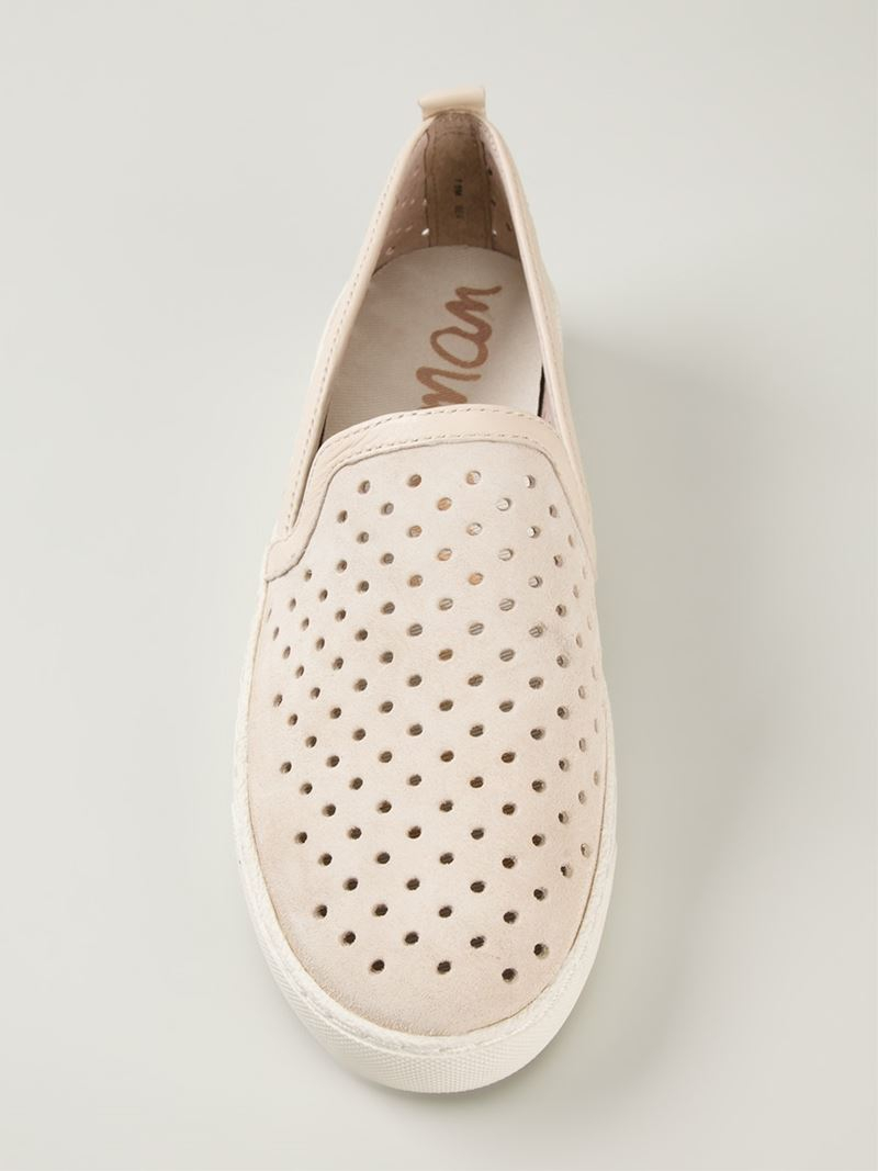 Sam Edelman 'bea' Slip-on Sneakers in Natural