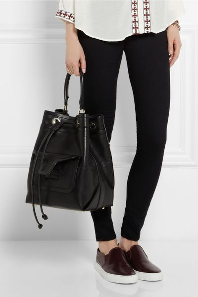 Mode, Galopines & Co : ici les stilettos, sneakers, bodycon, peplum... n'auront plus de secret pour vous ! Pierre-hardy-black-grained-leather-shoulder-bag-product-1-18496676-4-575478447-normal_large_flex