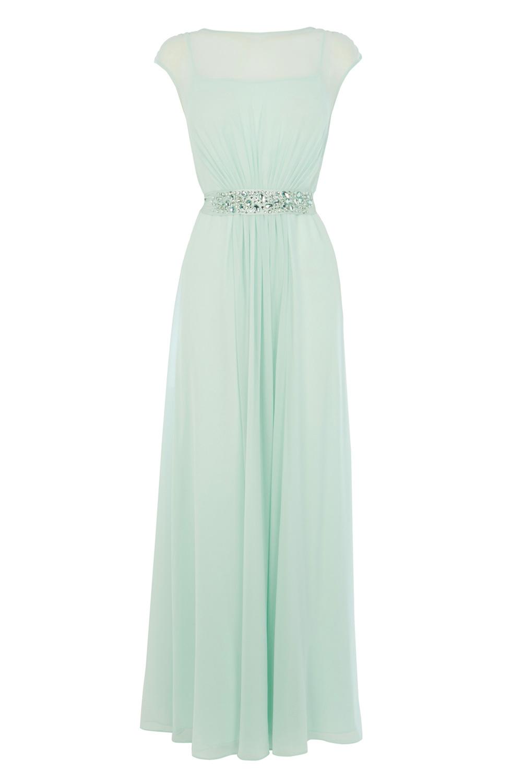Lyst coast lori lee maxi dress in green gallery ombrellifo Choice Image