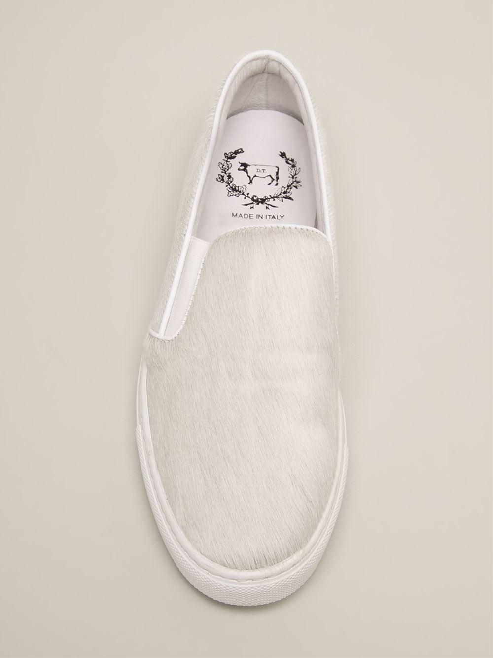 Del Toro Slip On Sneaker in White
