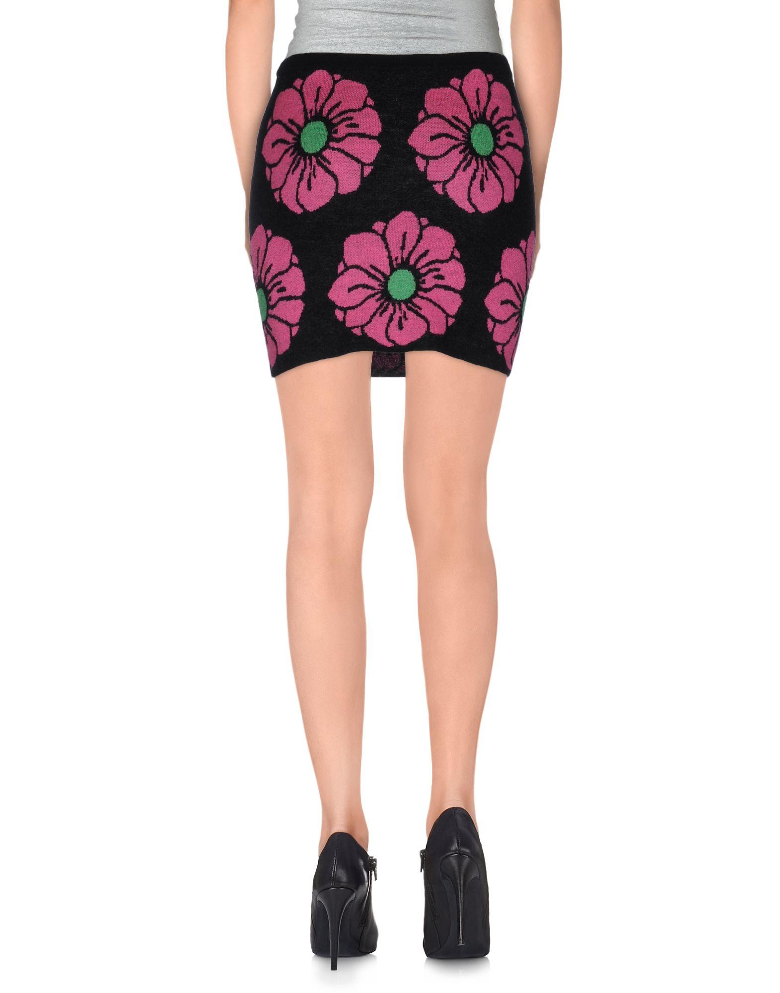beayukmui knee length skirt in floral black save 63