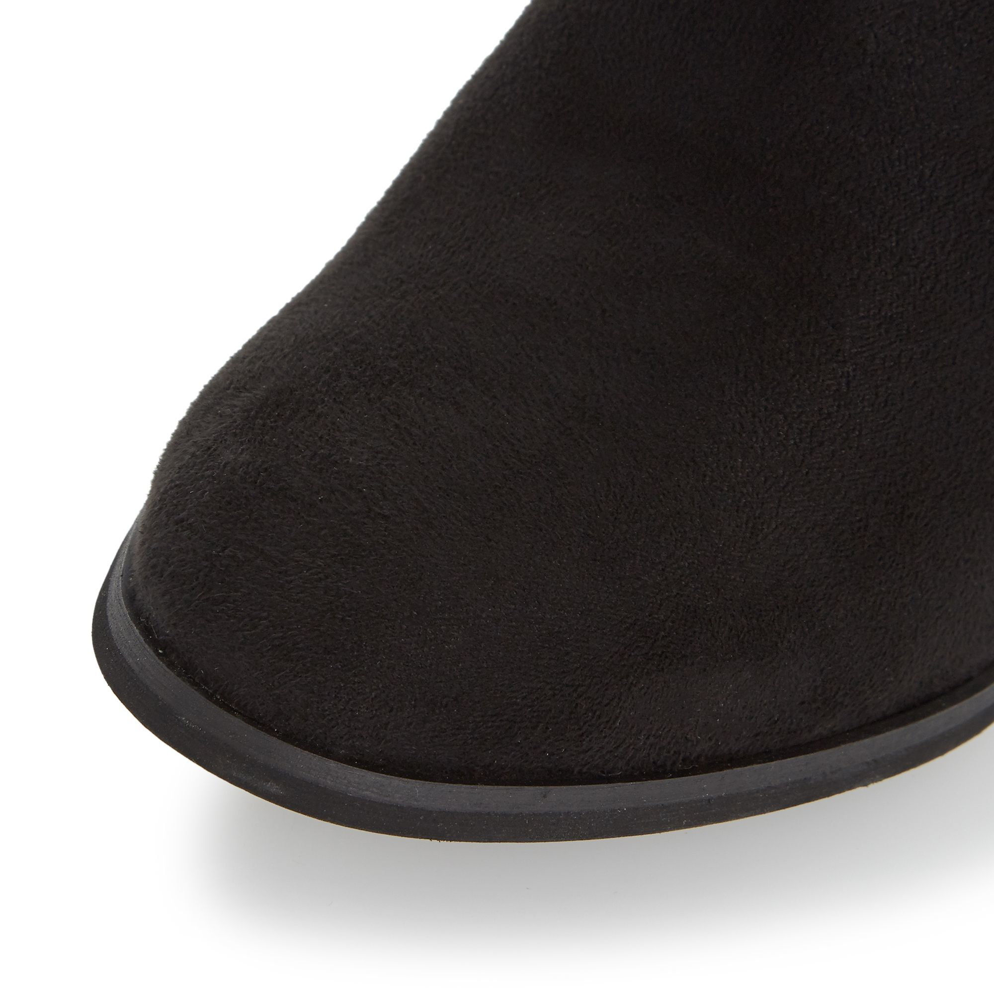 Dune Parnella Elasticated Panel Ankle Boots in Black