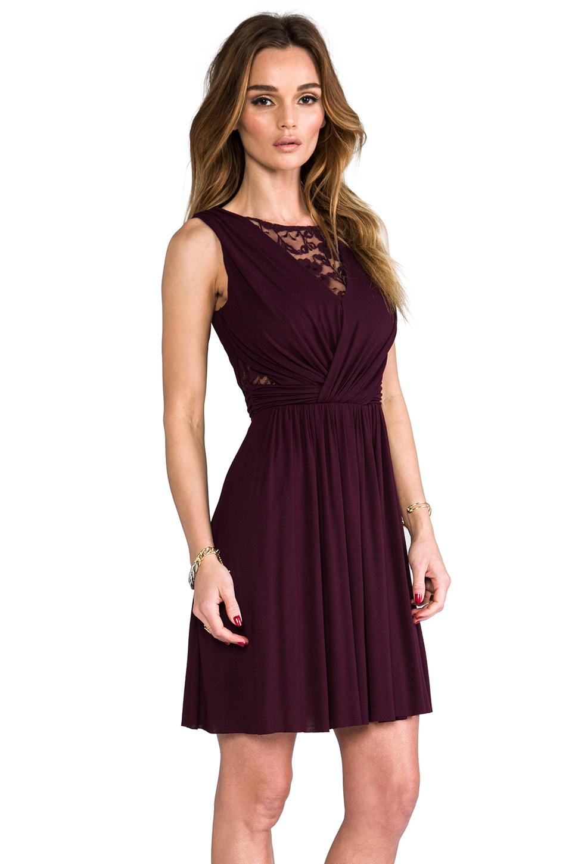 Lyst - Bailey 44 Dark Seduction Dress in Wine in Purple
