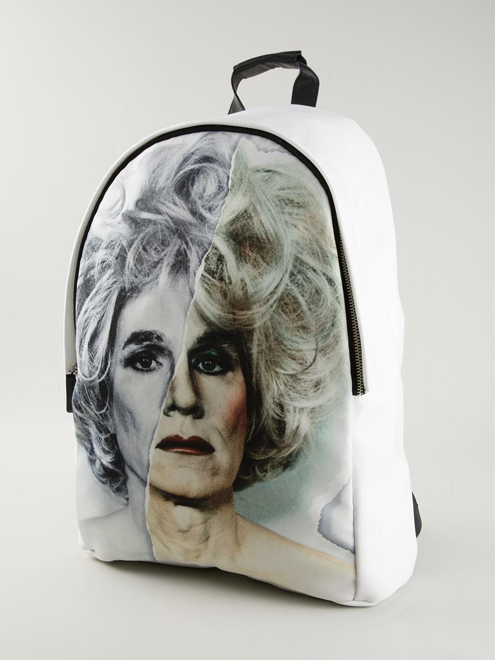 Ports 1961 Face Print Backpack in White