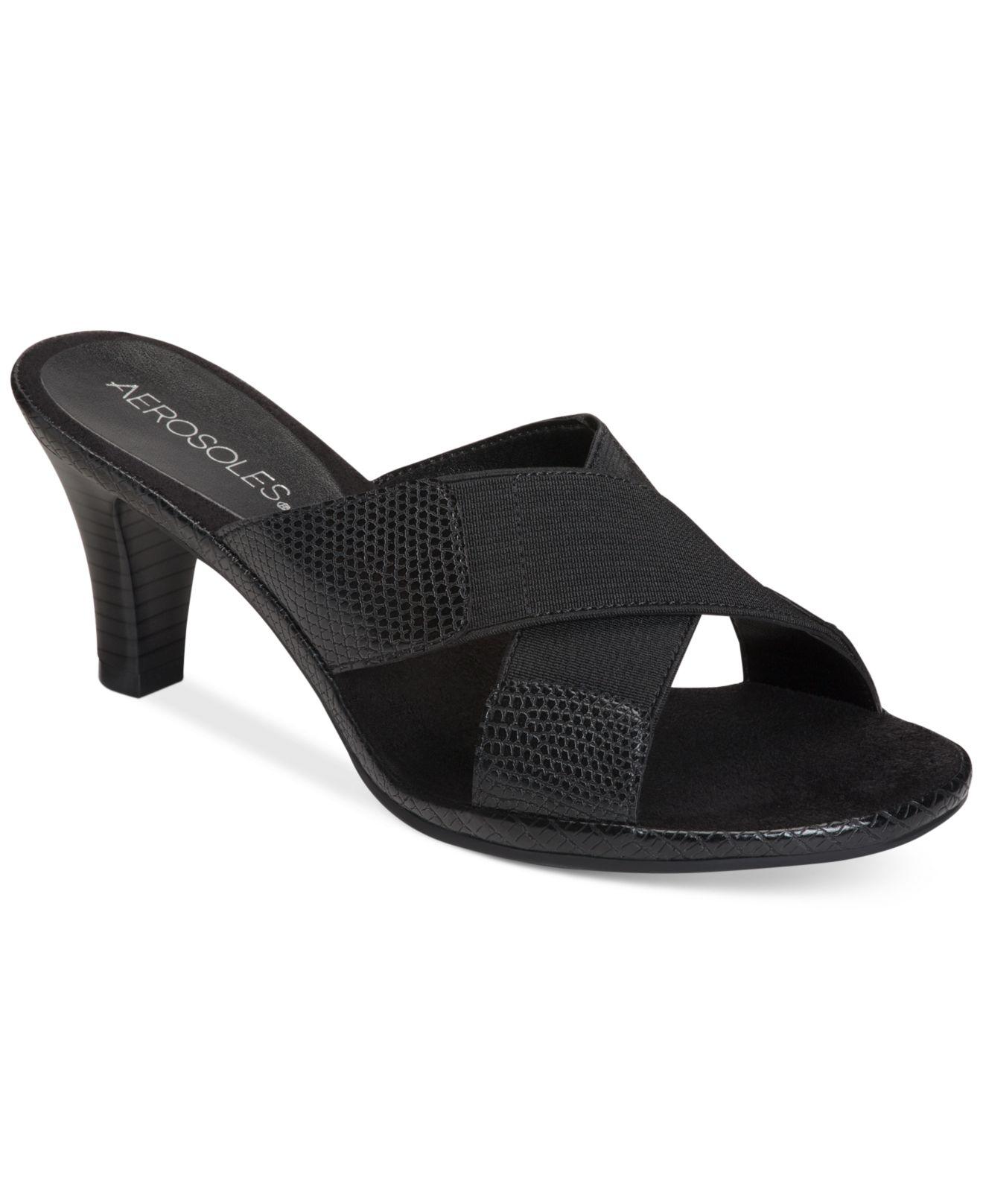 Aerosoles Love Powem Sandals In Black Save 48 Lyst