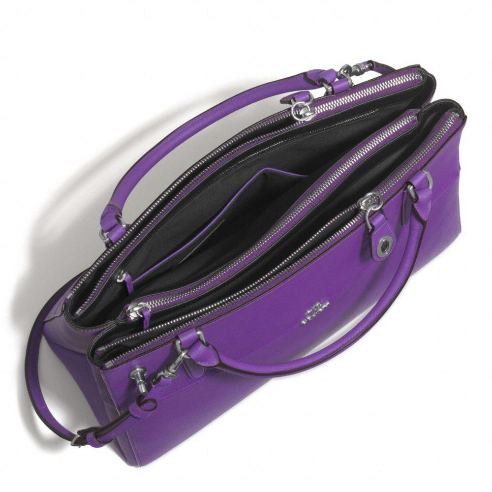 8ab98fe7bb18 Lyst - COACH The Borough Bag In Saffiano Leather in Purple