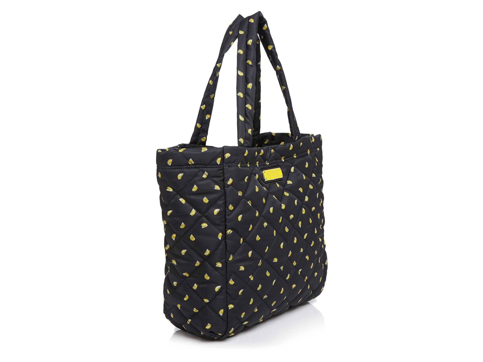 Marc By Marc Jacobs Synthetic Crosby Quilted Nylon Fruit Print Tote