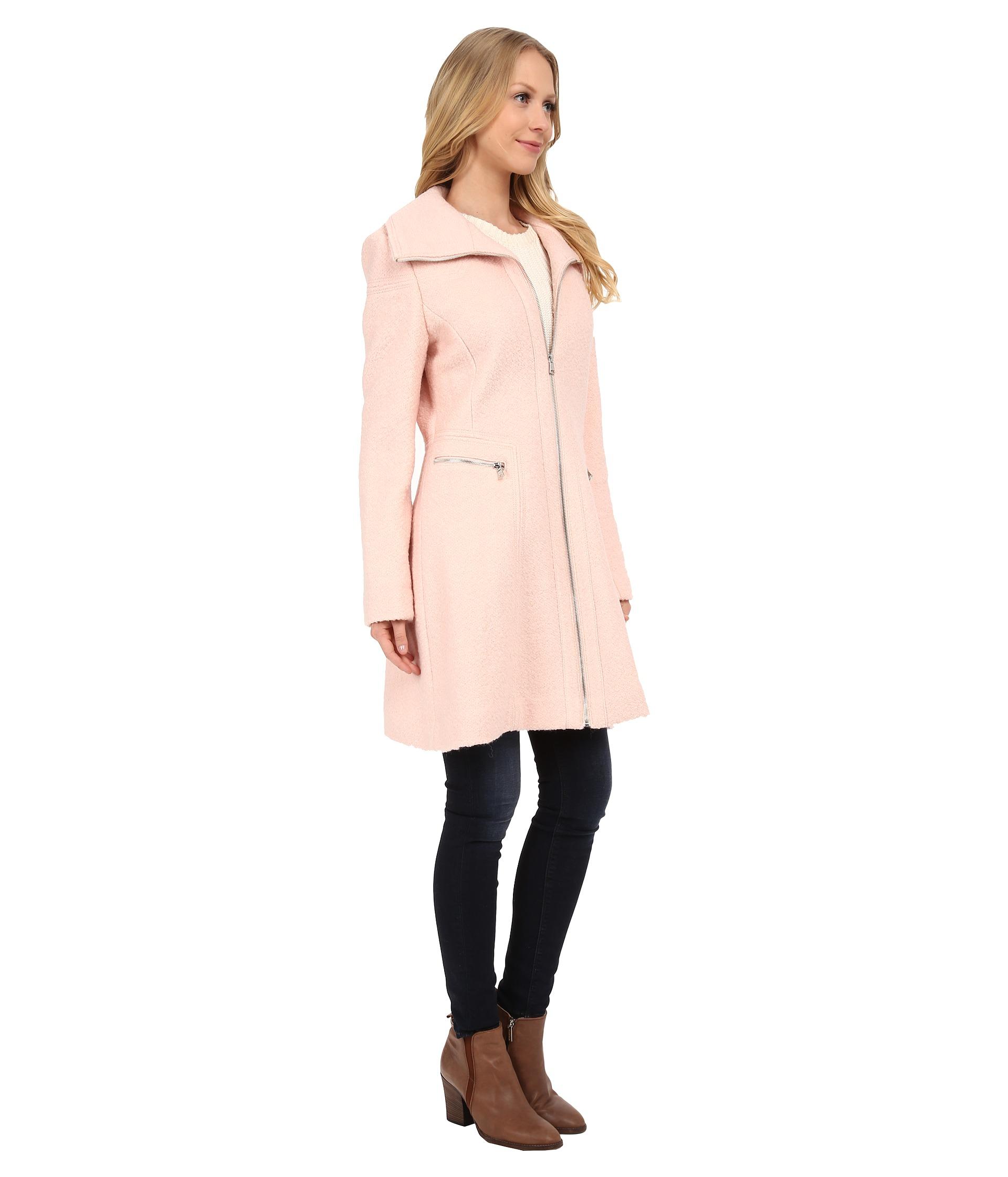 Jessica Simpson Pink Pea Coat Tradingbasis