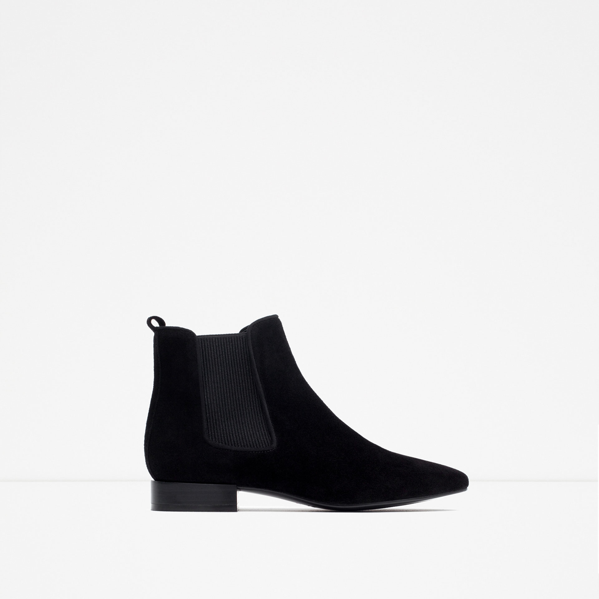 zara flat leather ankle boots flat leather ankle boots in