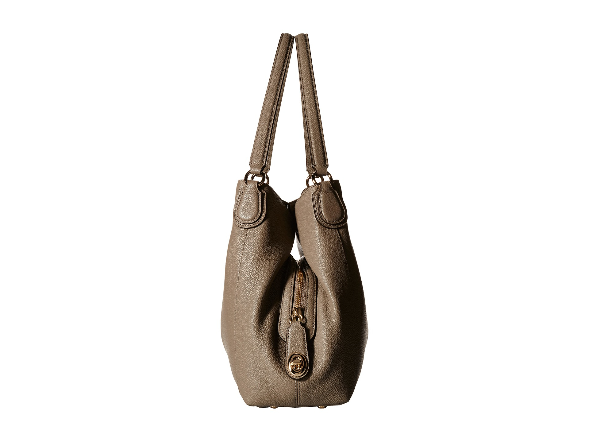 Leather Edie Bag Refined Pebble 31 Natural Shoulder Coach E9IYeWD2bH