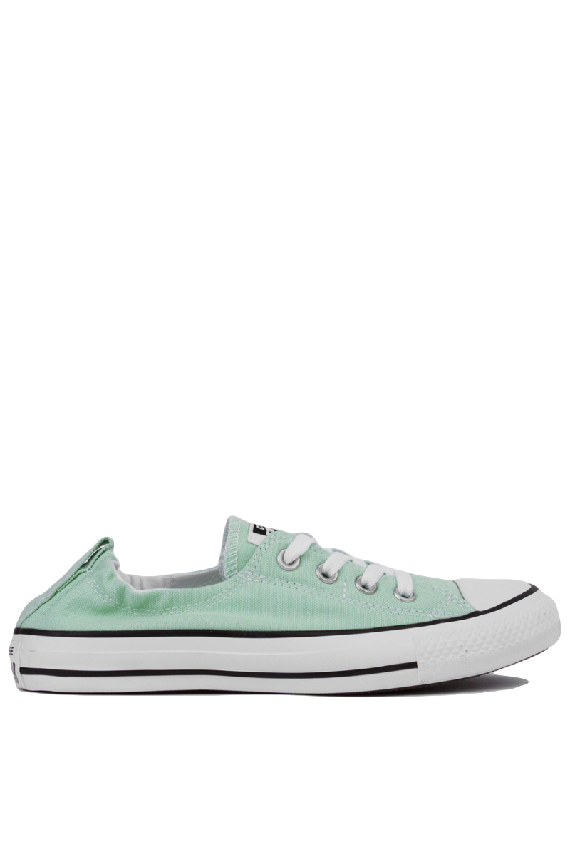 0b28436421 Lyst - Converse Chuck Taylor Shoreline Slip On Low Top Sneakers - Mint in  Green