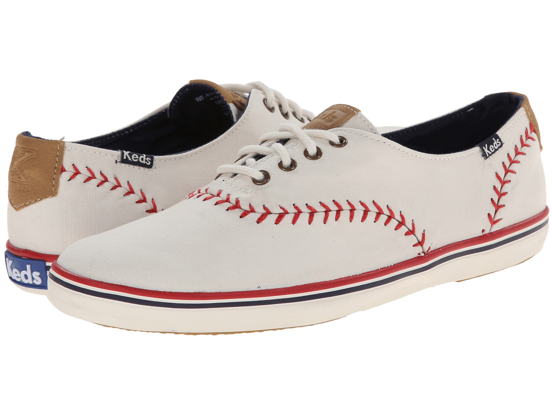 Keds Champion Pennant In White Off White Lyst