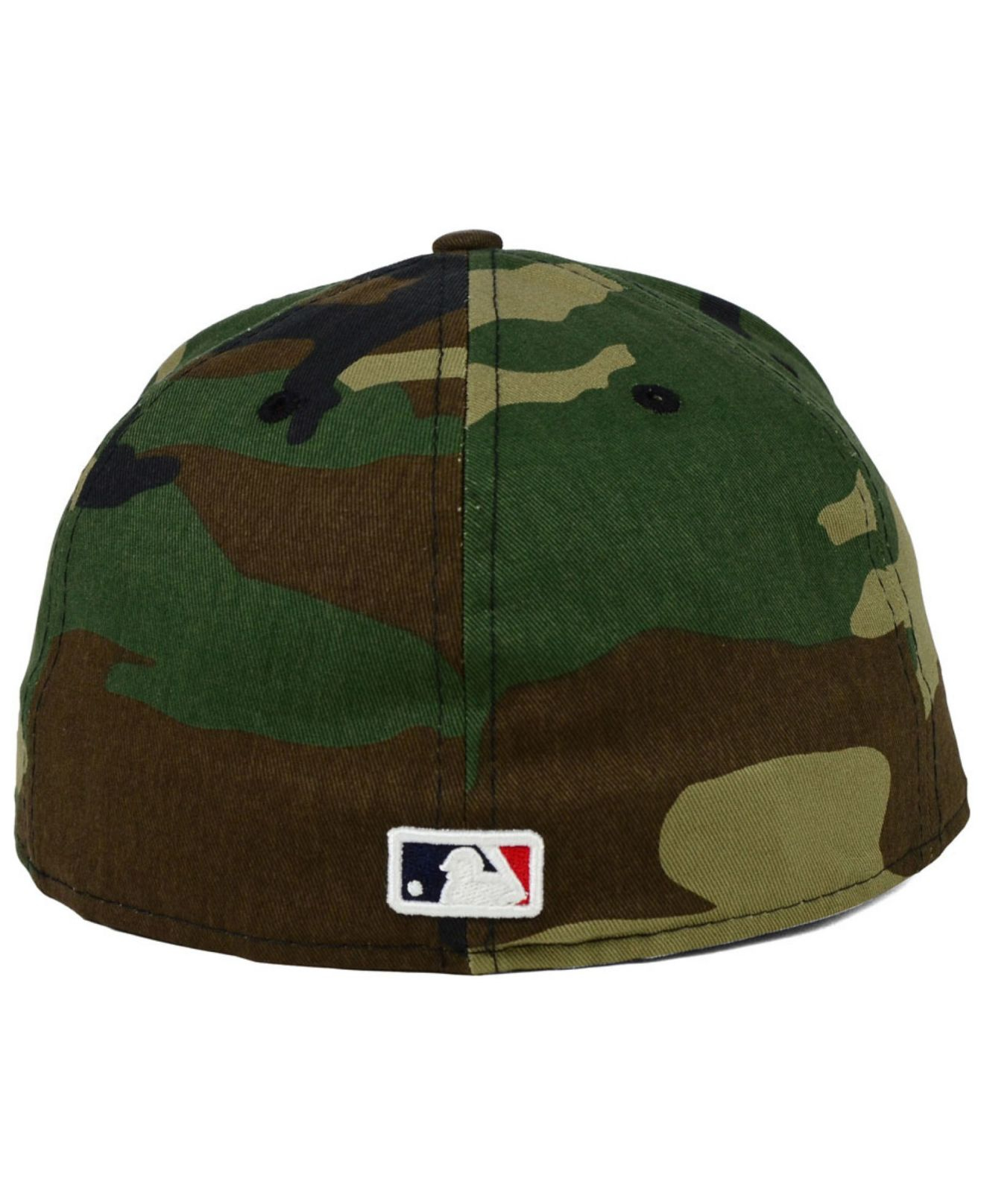 2642e804820 ... patch low profile 59fifty fitted 1c79b e560d  spain lyst ktz san diego  padres under woodland 59fifty cap in green for men be776 0f718