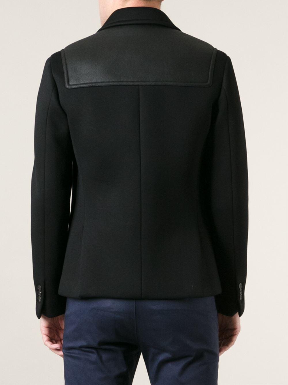 Neil Barrett Classic Donkey Jacket In Black For Men Lyst