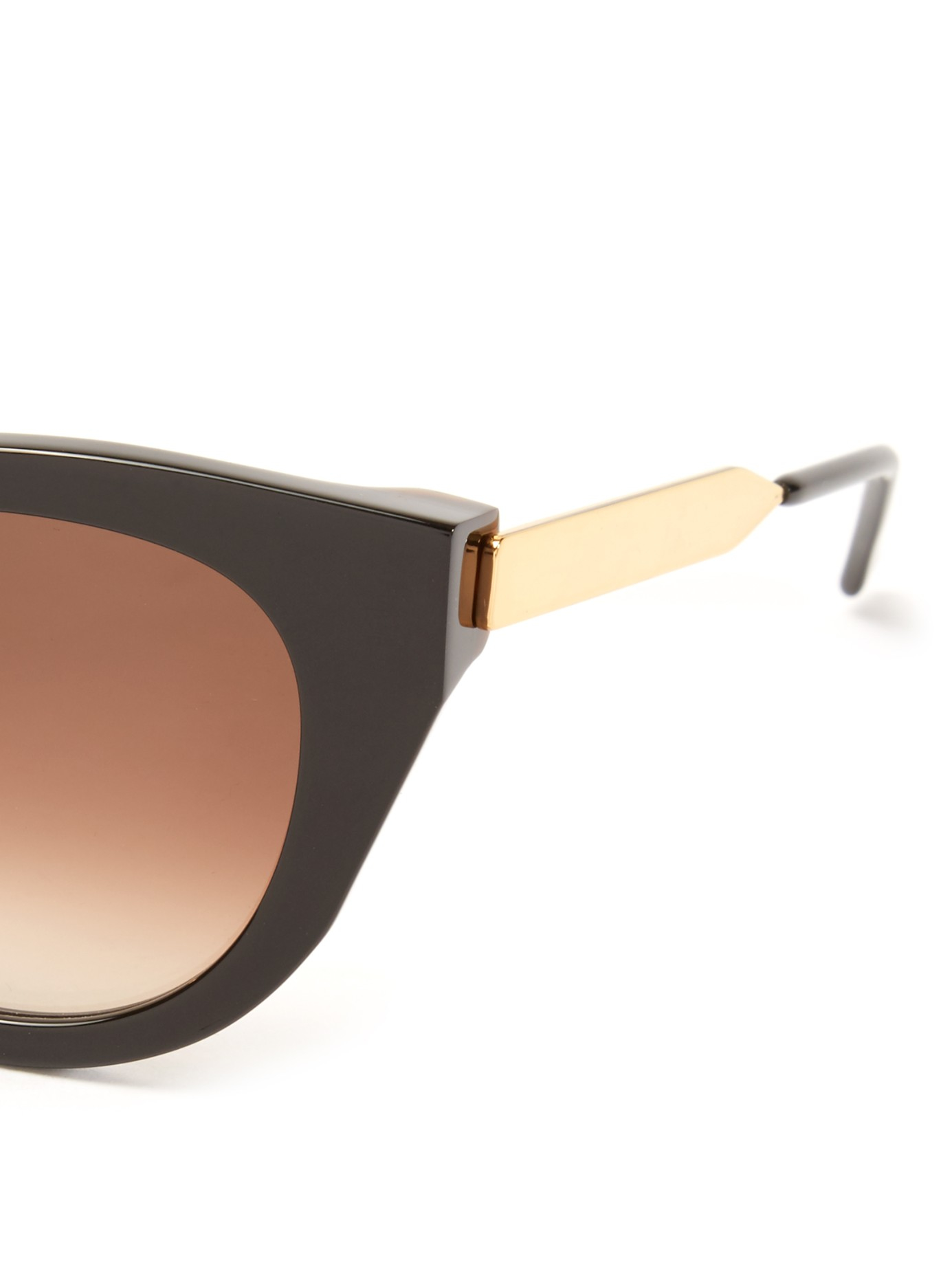Thierry Lasry Snobby Cat-eye Frame Sunglasses in Black