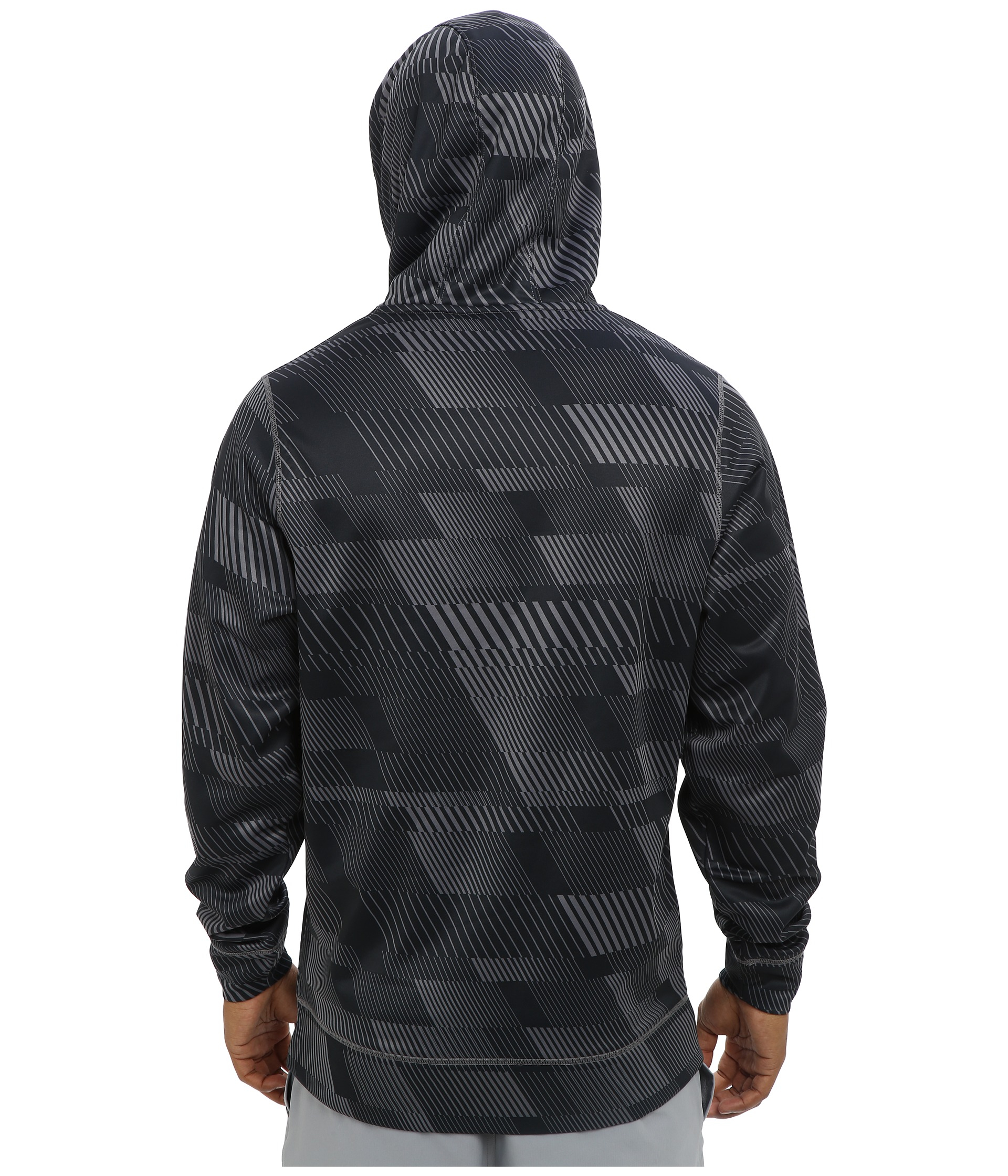 Lyst - Under Armour Armour® Fleece Storm Printed Big Logo Hoodie in ... c7e58ddc2a9d