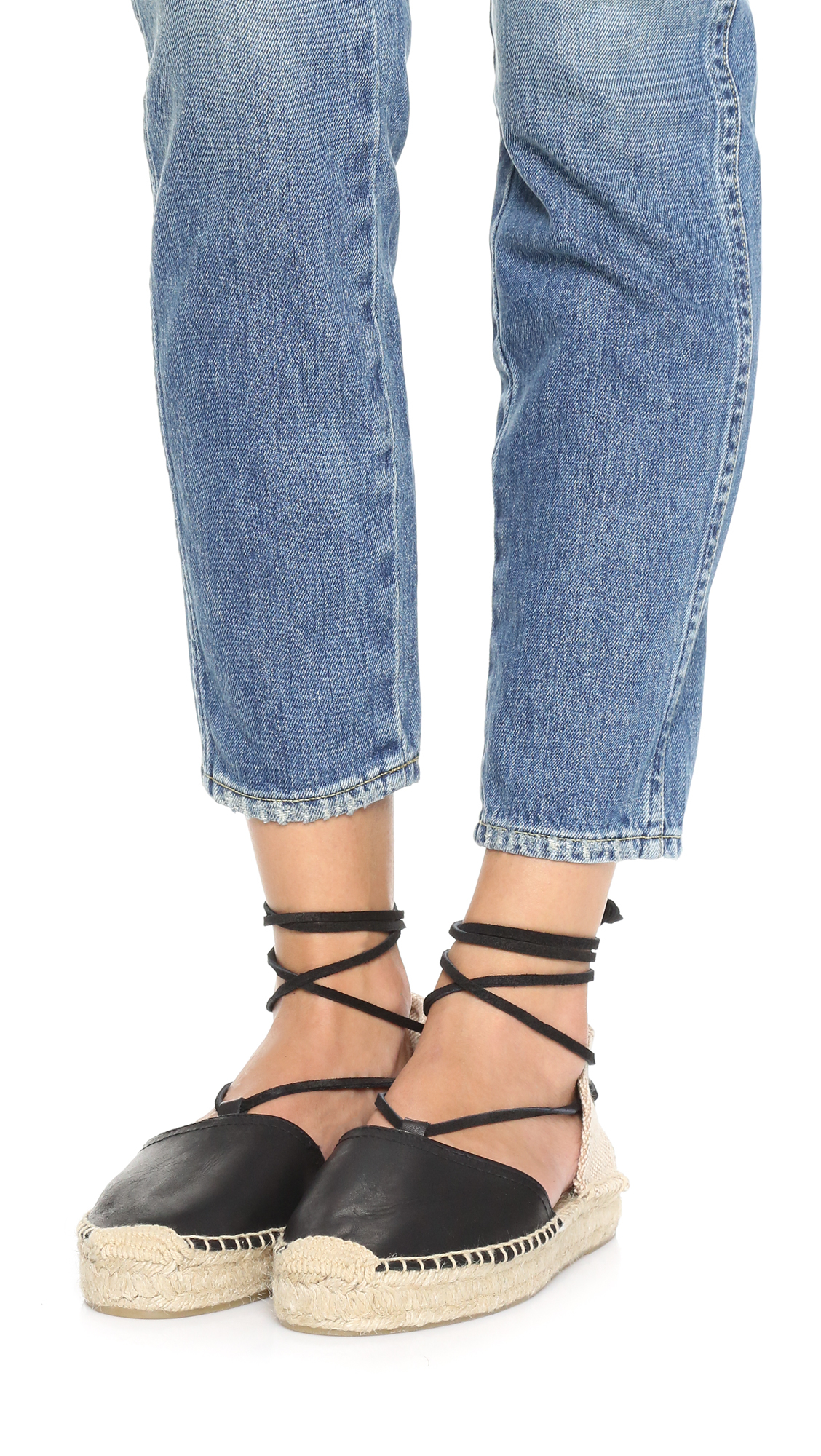 f4f072382a1 Lyst - Soludos Platform Gladiator Sandals in Black