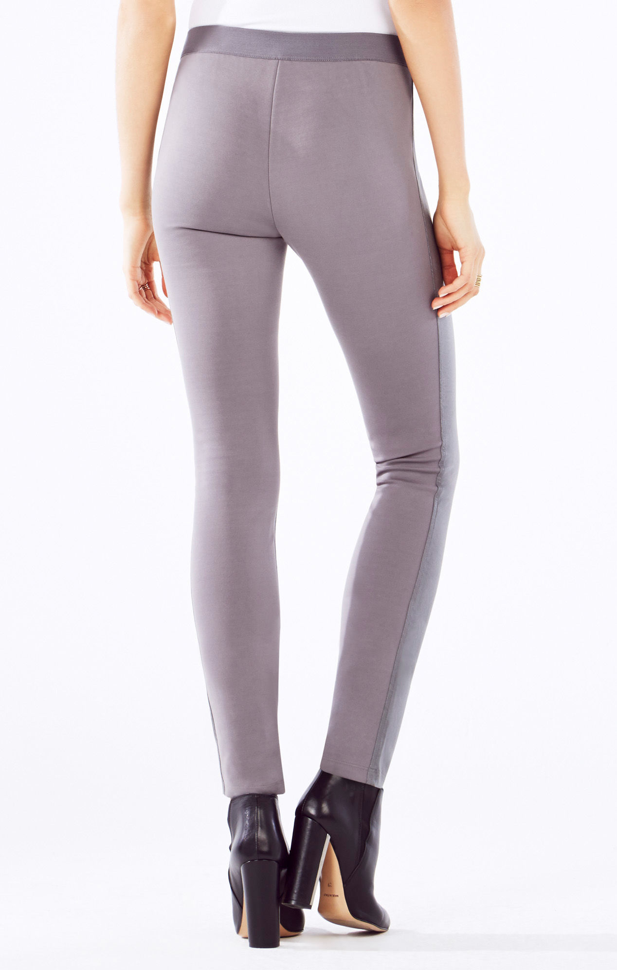 Simple Vince Leather Pants In White End Of Color List Off White  Lyst