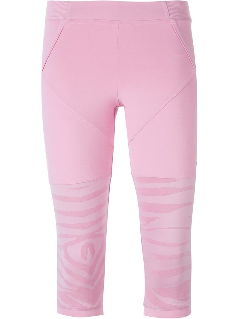 Adidas by stella mccartney 'studio Zebra' Leggings in Pink ...