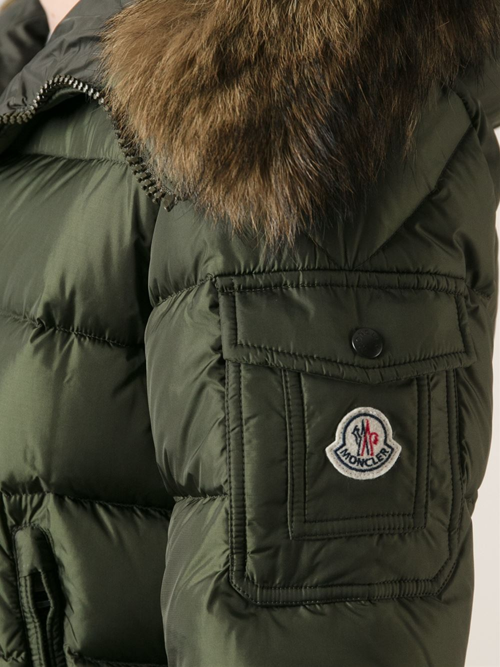 6adbd6bab spain moncler jacket fur hood mens dd0f0 4b941