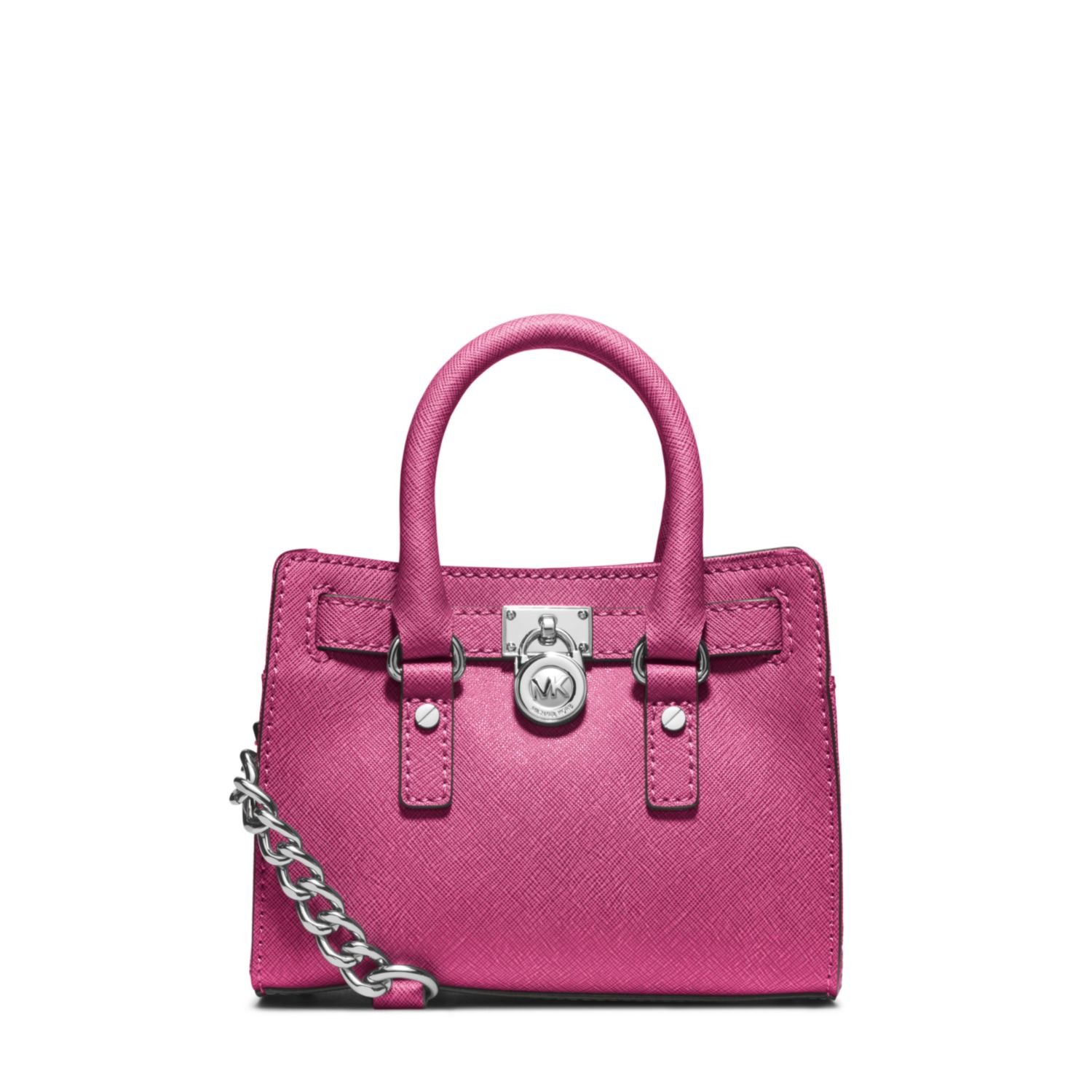 Michael michael kors pink mini hamilton messenger bag product 1 car