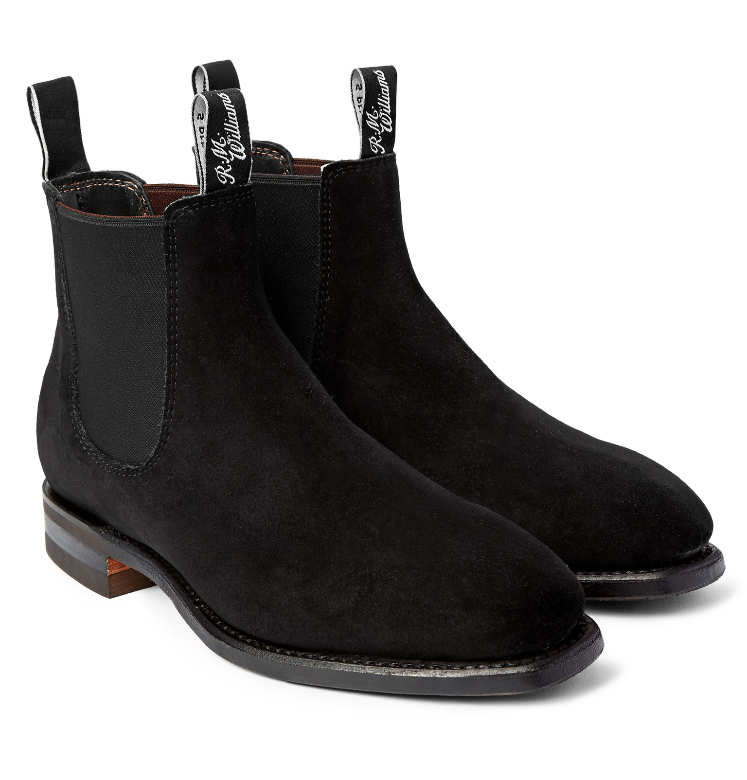 R.m. williams Comfort Craftsman Suede Chelsea Boots in ...