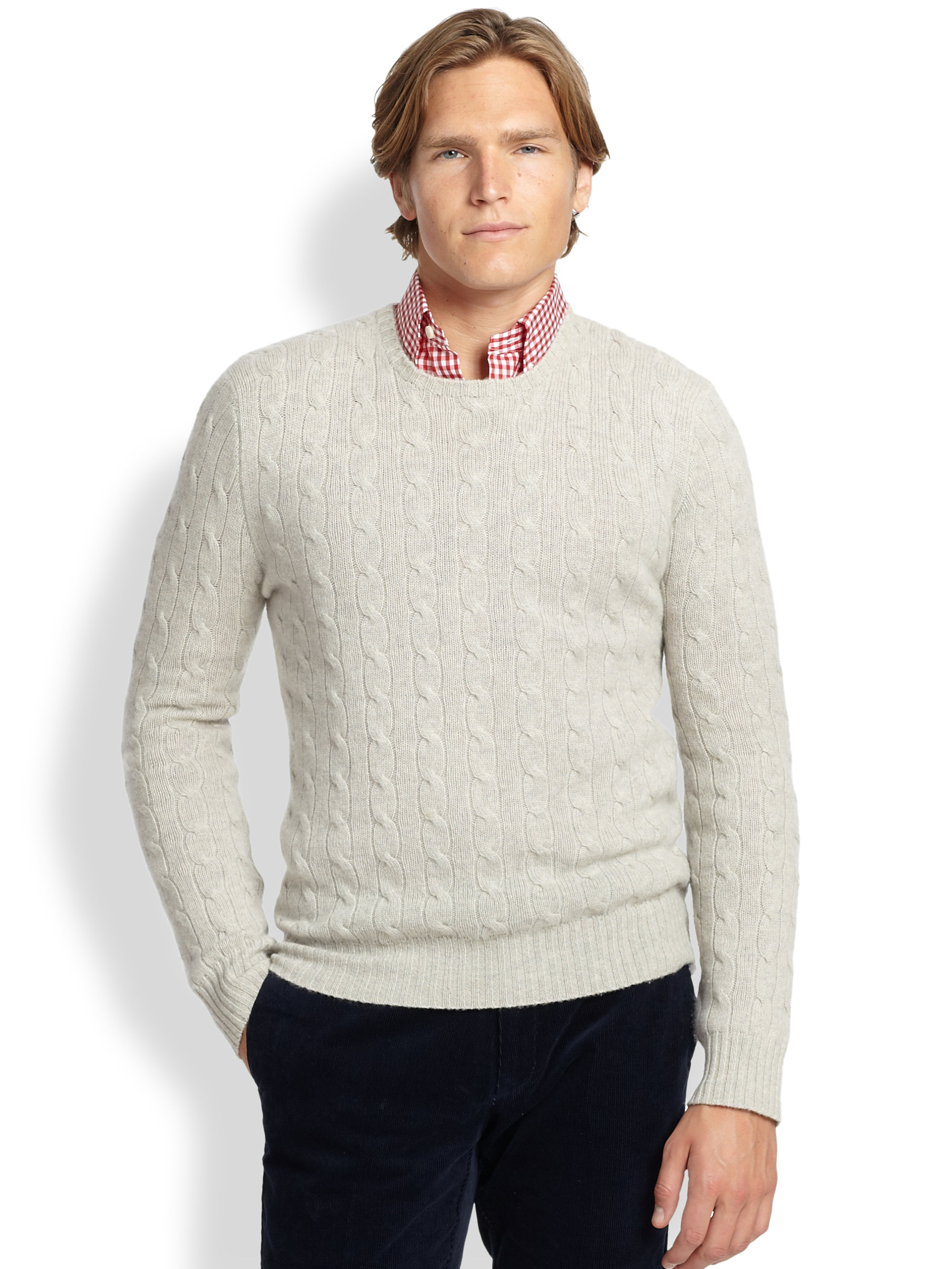 Polo Ralph Lauren Mens Cable Knit Sweater 3