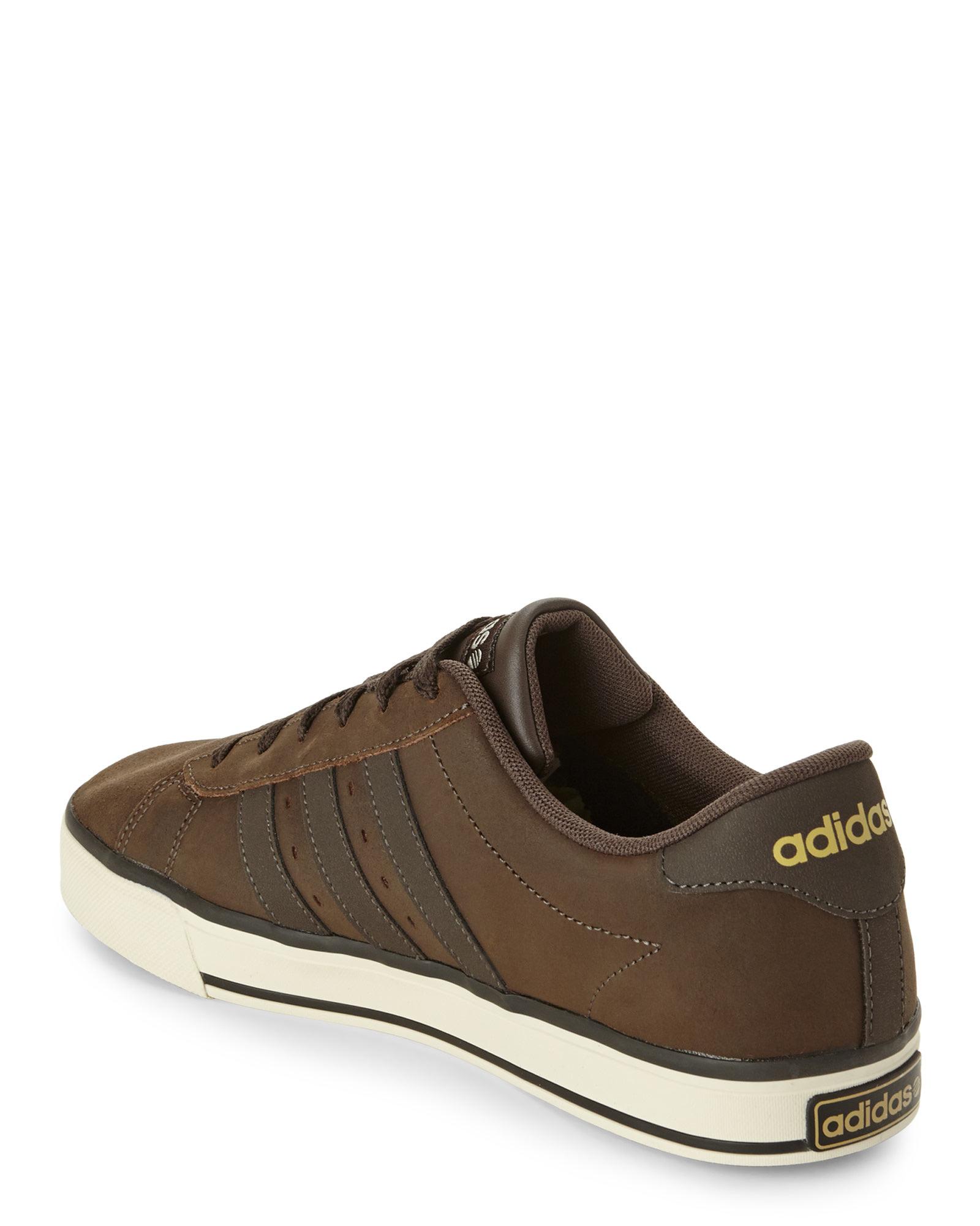 adidas brown sneakers