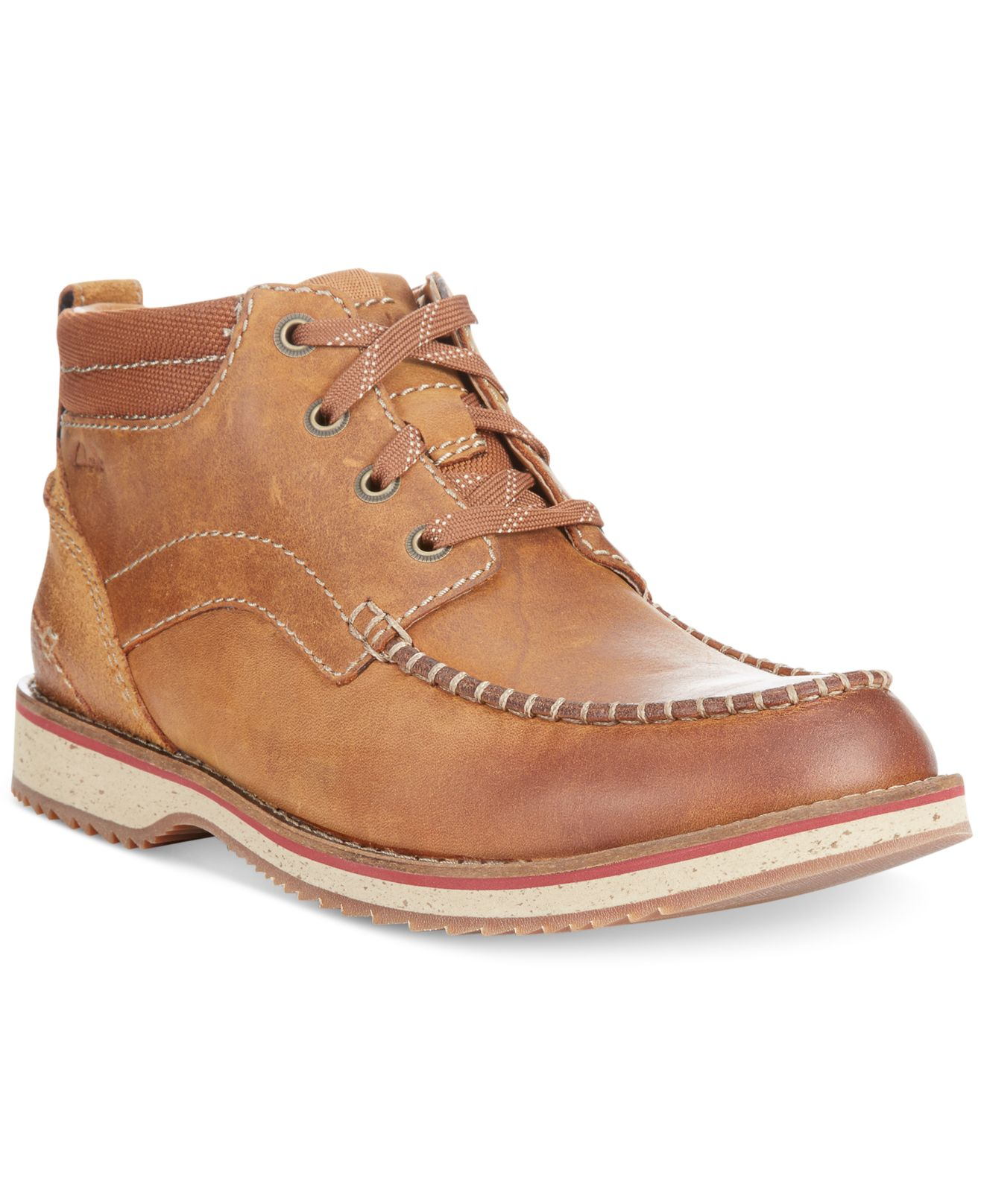 Lyst Clarks Mahale Mid Boots In Brown For Men