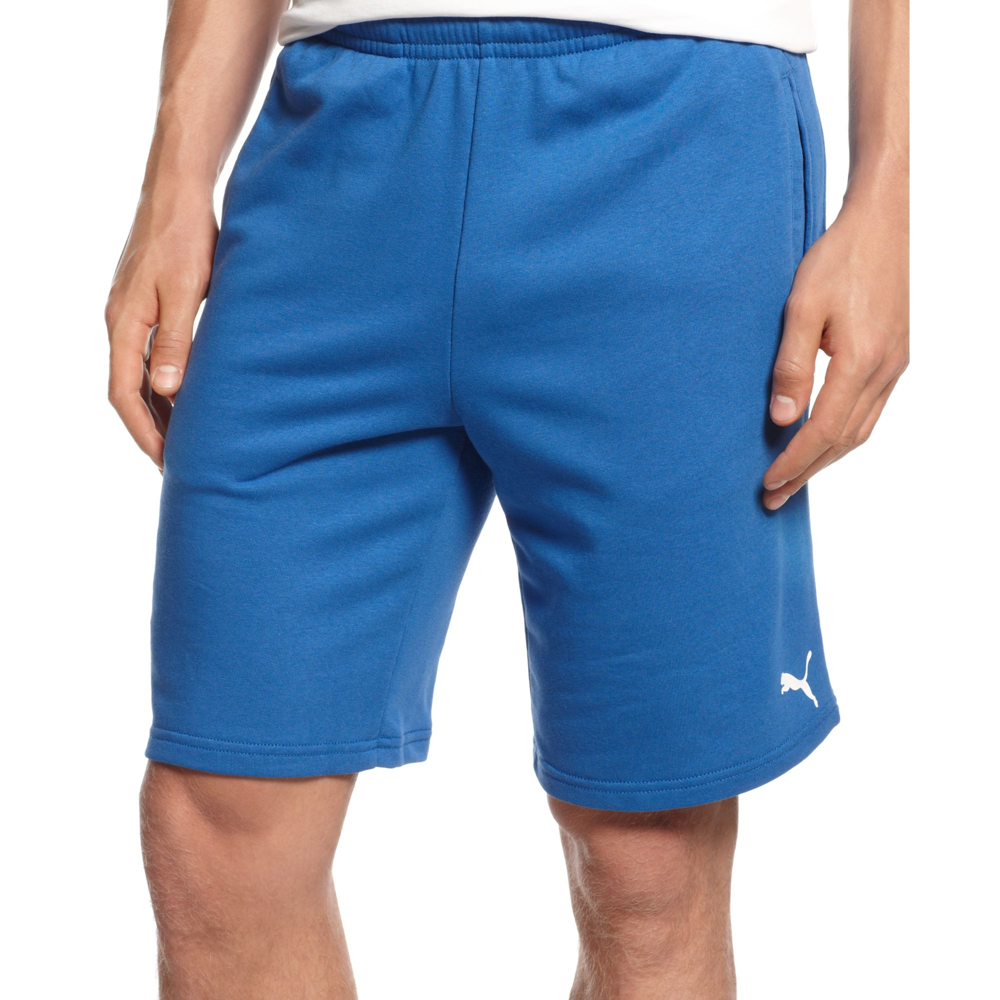 Lyst - PUMA Figc Italia Bermuda Shorts in Blue for Men a44b1059f357a
