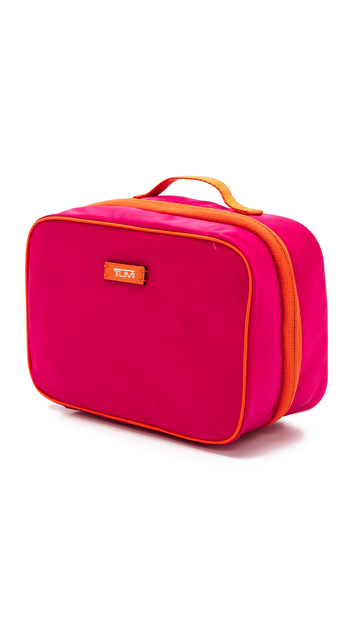 2accbbee9e Lyst - Tumi Lima Travel Toiletry Kit Lipstick in Pink