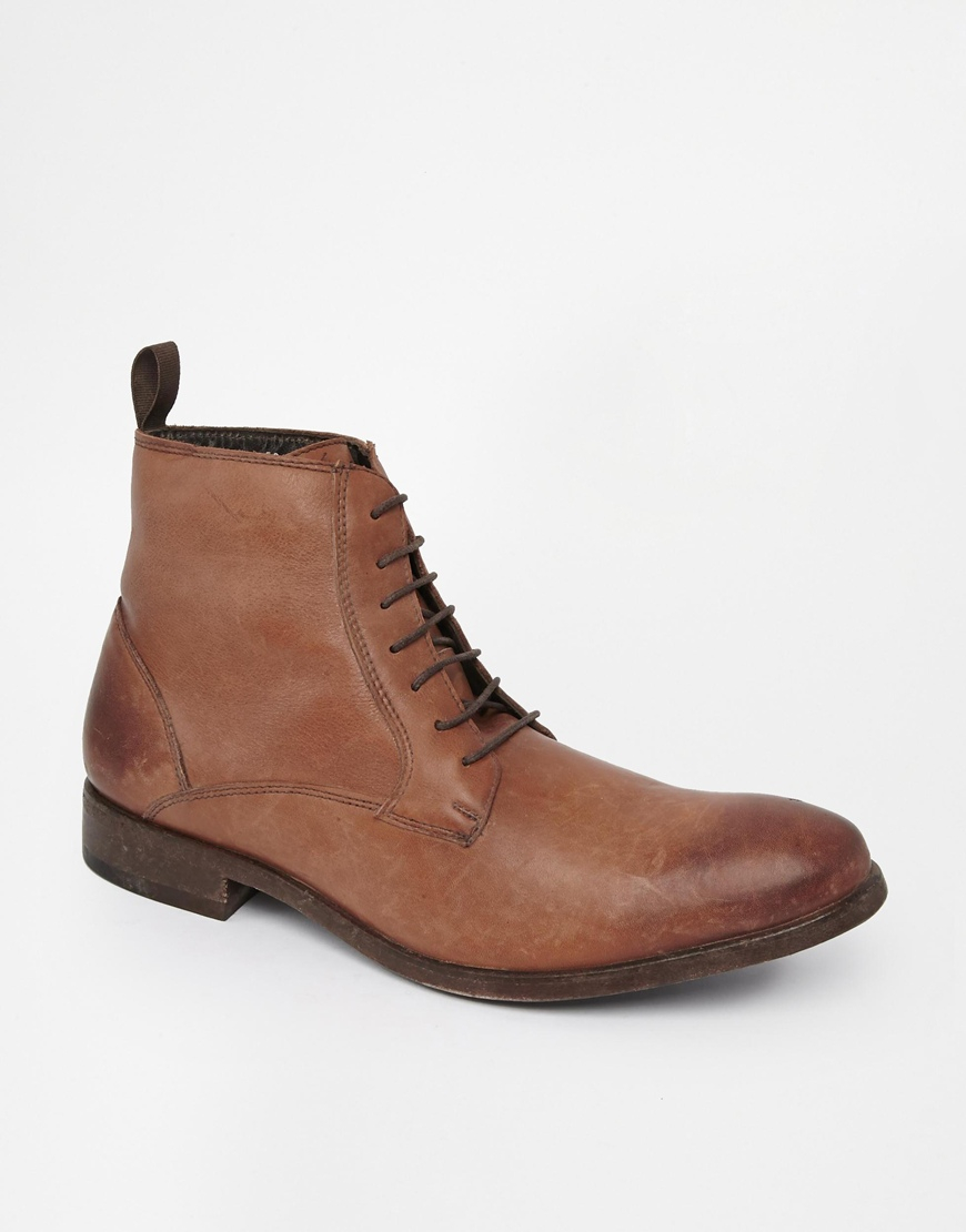 aldo boots in brown for lyst