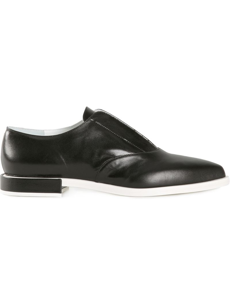 Black Pointed Toe Derbys Jil Sander 9VJqdy2T