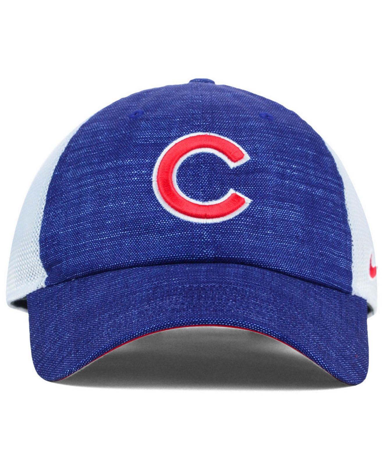 4c5405a84e475 Nike Chicago Cubs Dri-Fit Adjustable Cap in Blue for Men - Lyst