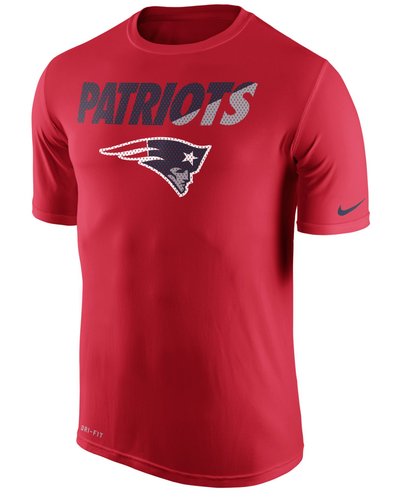 Nike men 39 s new england patriots legend staff practice t New england patriots shirts