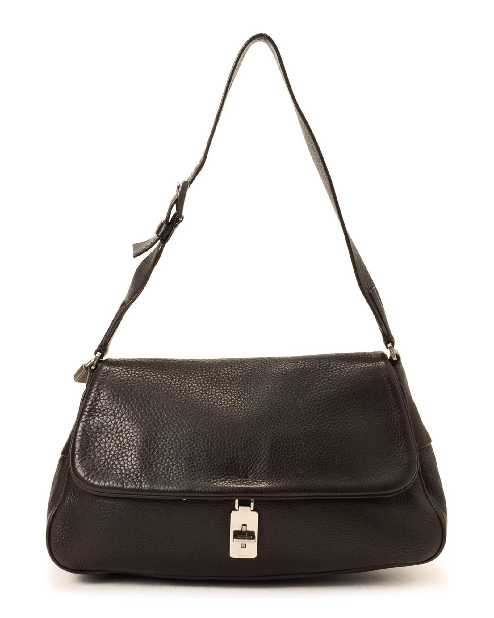 44fb7ffec5d2 cheap prada cahier shoulder bag black a2d3a 85126  clearance lyst prada  shoulder bag vintage in brown 4325e 60cfc