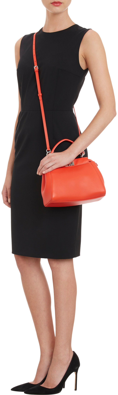 ... hot fendi mini peekaboo bag in red lyst 2857d 079ae f70357f8267be