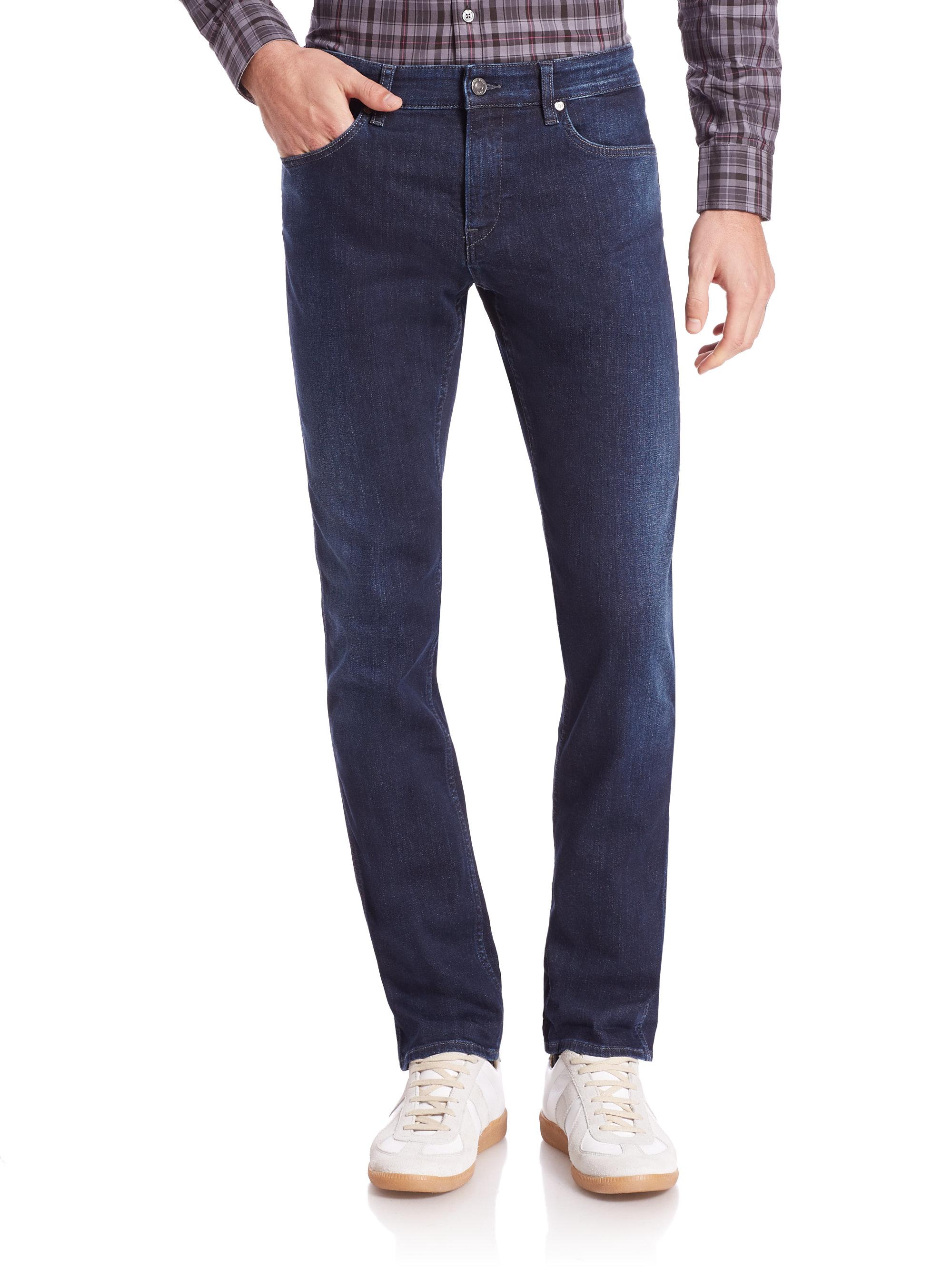 slim fit jeans damen used look slim jeans endource soft. Black Bedroom Furniture Sets. Home Design Ideas