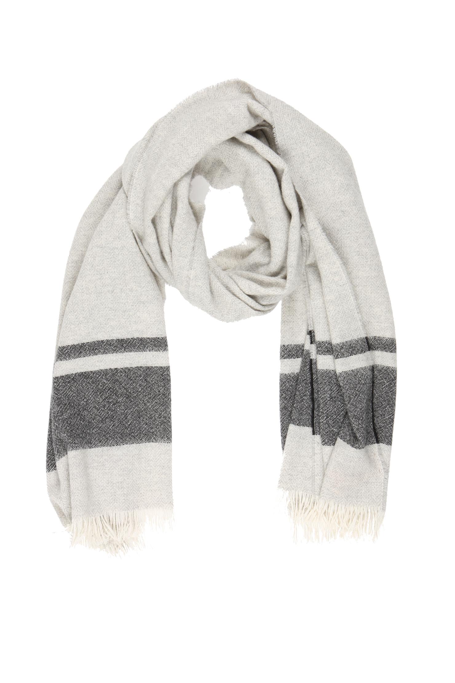 scotch soda scarf in gray lyst