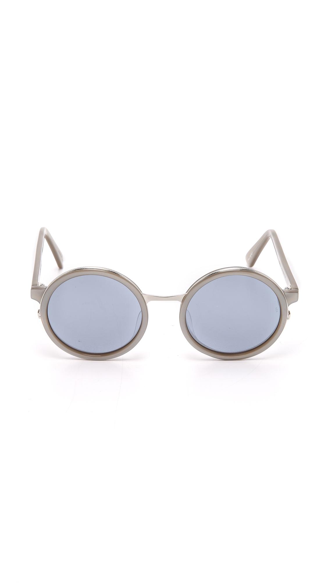 f507992c5ae Sunday Somewhere Soleil Sunglasses in Metallic - Lyst