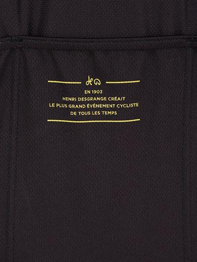 Le Coq Sportif Tour De France Dedicated Maillot in Black for Men