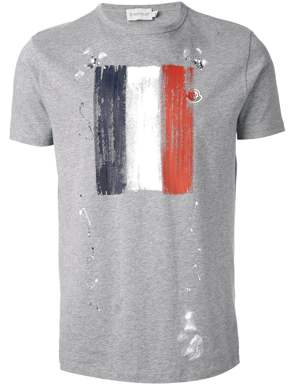 mens grey moncler t shirt