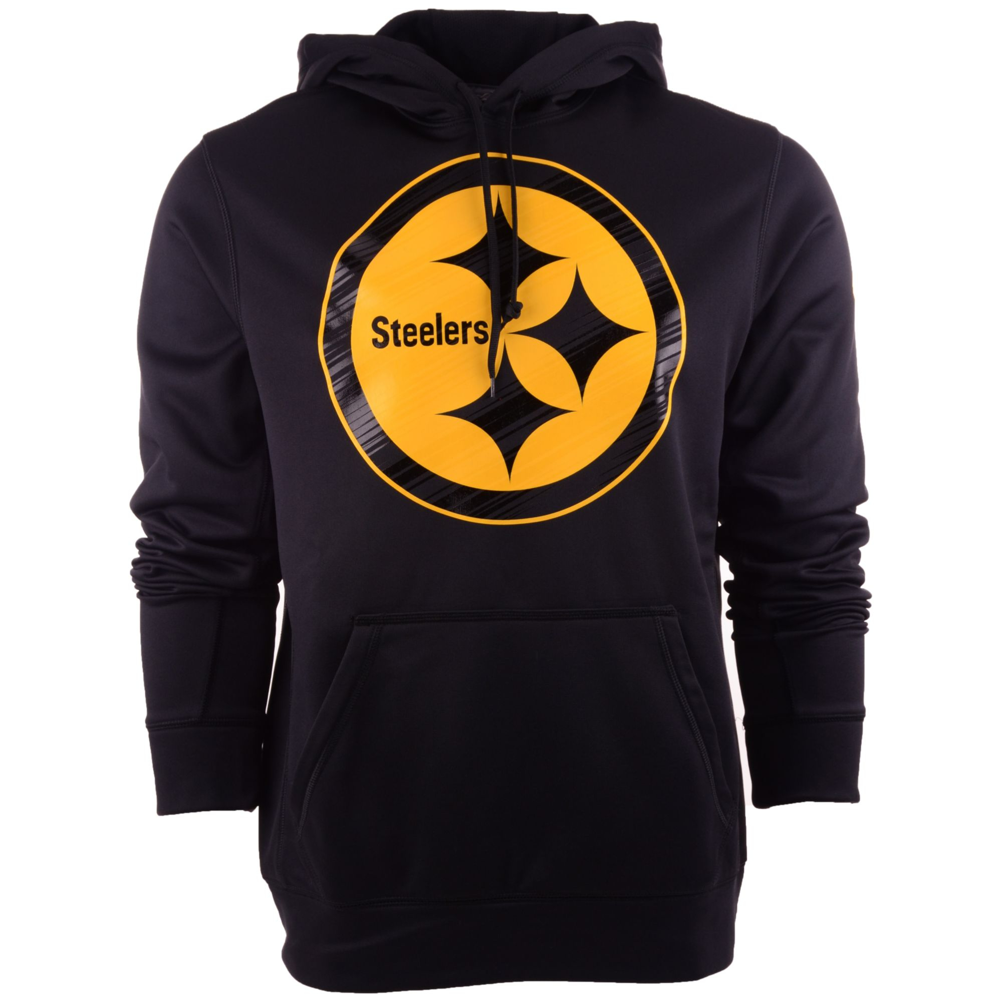 coupon codes new collection outlet on sale Mens Pittsburgh Steelers Warp Performance Hoodie