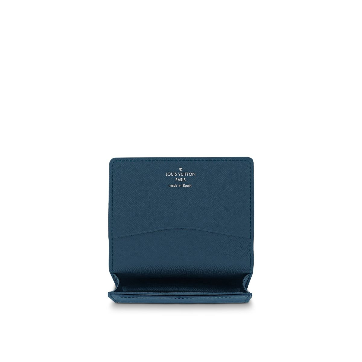 Louis vuitton Business Card Holder in Blue for Men
